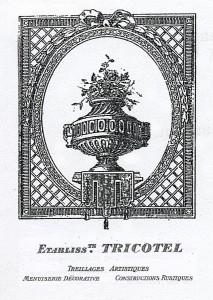 Ancien logo de la société Tricotel