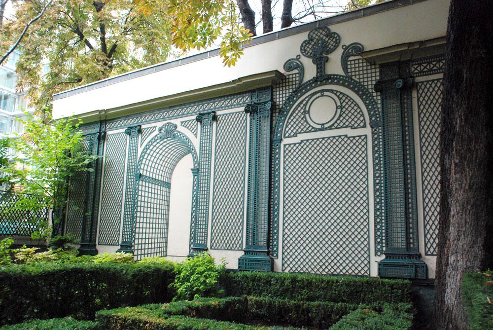 restoration tricotel the art of treillage since 1848. Black Bedroom Furniture Sets. Home Design Ideas