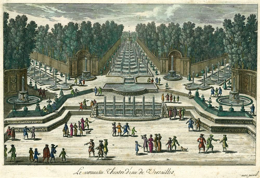 Versailles - Le théatre d'eau